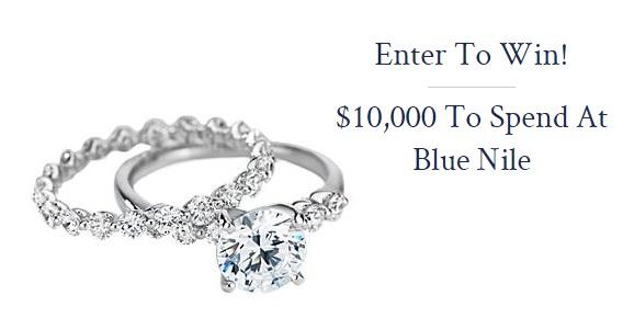 Blue Nile $10,000 Sweepstakes