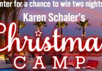 Harper Collins Karen Schaler Christmas Camp Sweepstakes