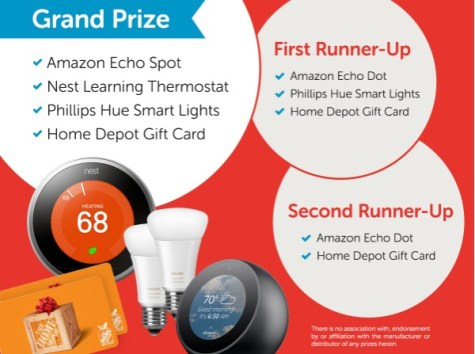 HomeServe 15th Anniversary Sweepstakes