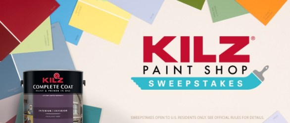 Kilz Paint Shop Sweepstakes