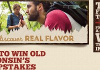 Old Wisconsin Rediscover Real Flavor Sweepstakes