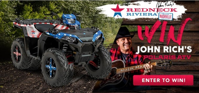 One Country Redneck Riviera Polaris ATV Giveaway