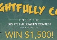 Penguin Brand Dry Ice Frightfully Cool Halloween Contest