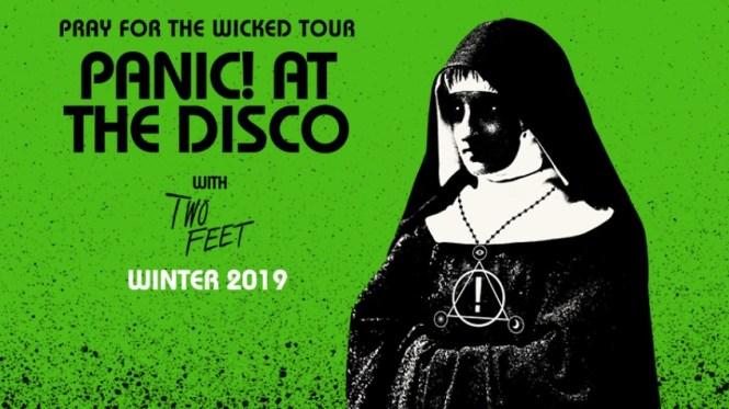Sirius XM Panic At The Disco 2019 Tour Row A Show Sweepstakes