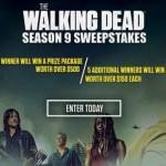 The Walking Dead Season 9 Sweepstakes