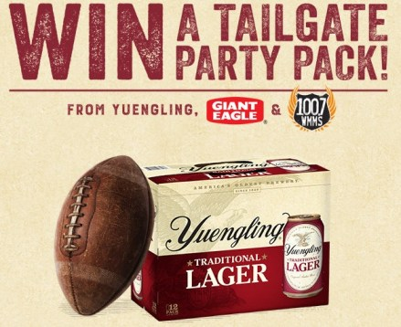 Yuengling Tailgate Sweepstakes