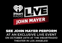 iHeartRadio John Mayer Sweepstakes