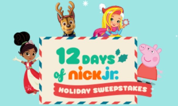 12 Days Of Nick Jr. Holiday Sweepstakes