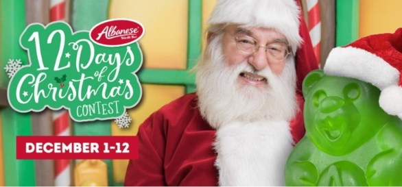 Albanese 12 Days Of Christmas Contest