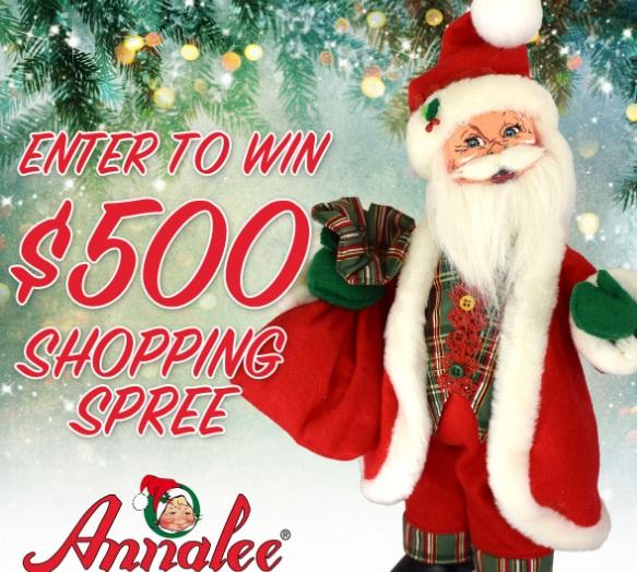 Annalee Santa Shopping Spree Giveaway