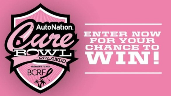 Click Orlando Autonation Cure Bowl Game Package Contest