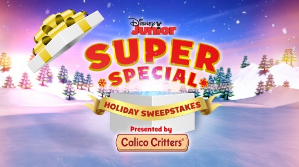Disney Junior Super Special Holiday Sweepstakes