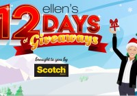 Ellentube 12 Days Of Giveaways Sweepstakes