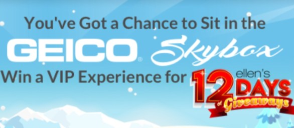 GEICO Skybox And Elf For 12 Days Contest