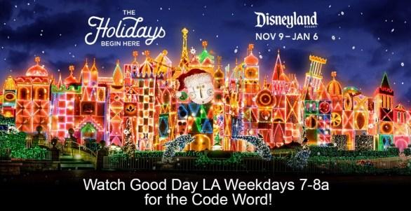 Good Day LA Disneyland Holiday Giveaway