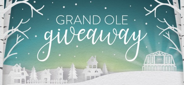 Grand Ole Opry Grand Ole Giveaway