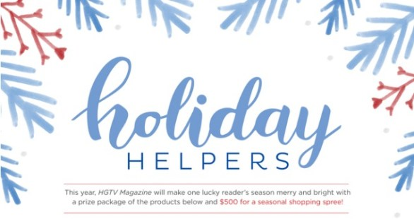 HGTV Magazine Holiday Helpers Sweepstakes