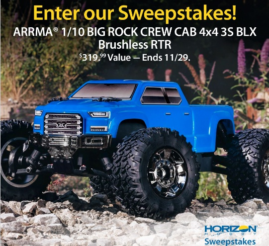 Horizon Hobby Surface Sweepstakes