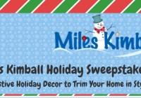 Miles Kimball Holiday Sweepstakes