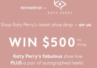 Refinery 29 And Katyperry Collections Sweepstakes