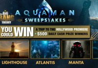 The Big Bang Theory Aquaman Sweepstakes