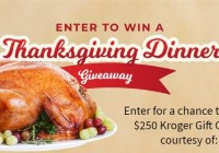 WRIC Thanksgiving Dinner Giveaway