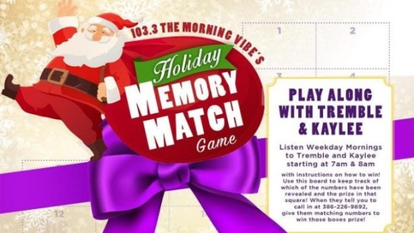 WVYB Holiday Memory Match Game Contest