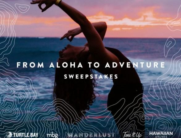 Wanderlust From Aloha To Adventure Sweepstakes