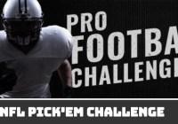Wane Pro Football Challenge Prediction Contest