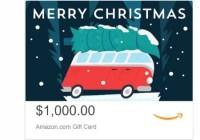 Weber Books $1,000 Amazon eGift Card Giveaway