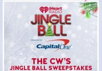 iHeartRadio The CW's Jingle Ball Sweepstakes