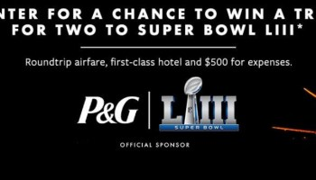 Pepsi Super Bowl LIII Instant Win Game - Win Tickets