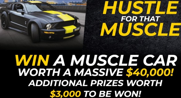 CrazyBulk Hustle For That Muscle Sweepstakes