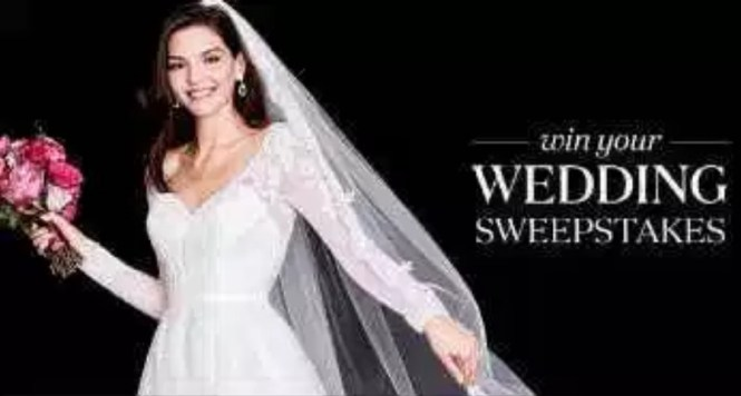 David's Bridal Win Your Wedding Sweepstakes