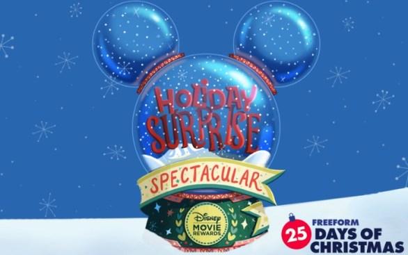 Disney Movie Rewards FREEFORM 25 Days of Christmas