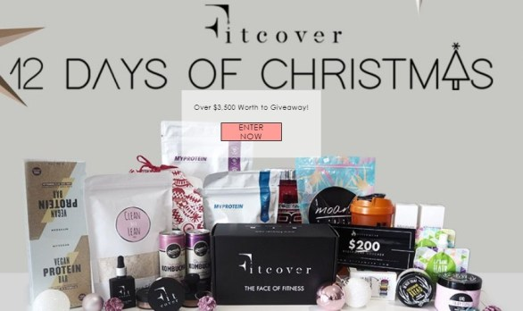 Fitcover 12 Days Of Xmas Giveaway