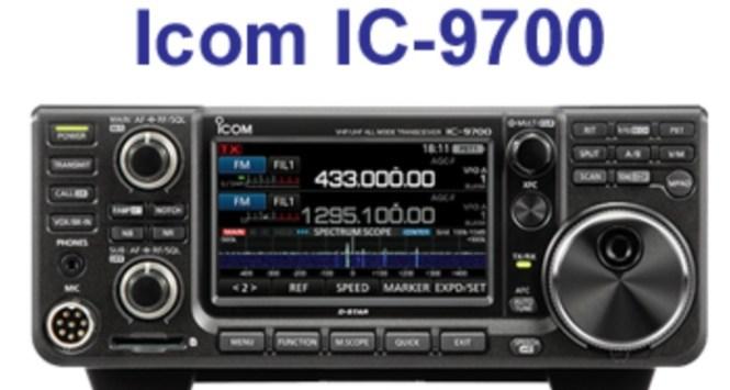 GigaParts Icom IC-9700 Sweepstakes