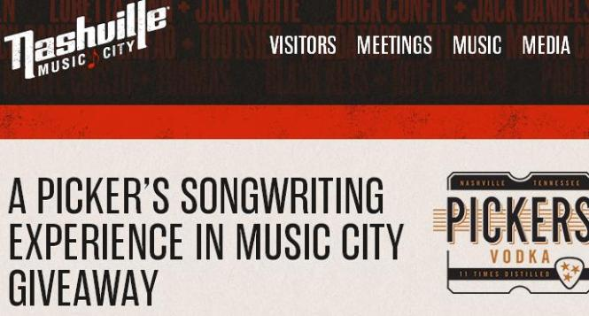 Heroes Behind The Hits Songwriter Showcase Sweepstakes