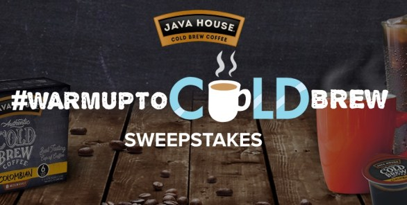 Java House Warm Up To Cold Brew Sweepstakes