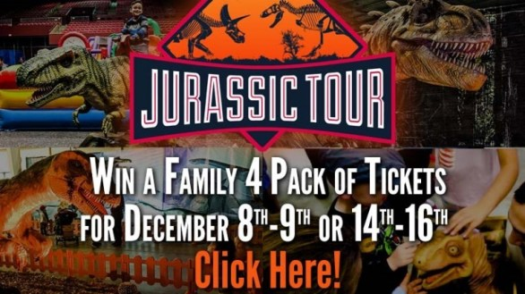 KDVR Jurassic Tour Sweepstakes