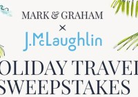 Mark & Graham J.McLaughlin Holiday Travel Sweepstakes