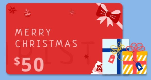 Movavi Christmas Cash Giveaway