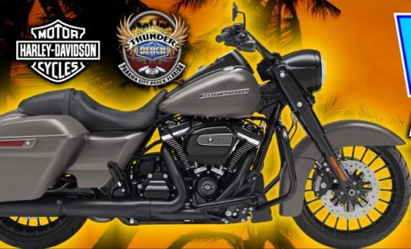 PCB Harley Davidson Road King Special Motorcycle Giveaway