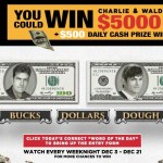 Two And A Half Men Sweepstakes
