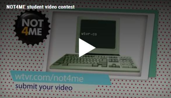 WTVR CBS 6 NOT4ME PSA Contest