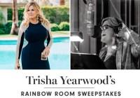 Williams Sonoma Trisha Yearwoods Rainbow Room Sweepstakes