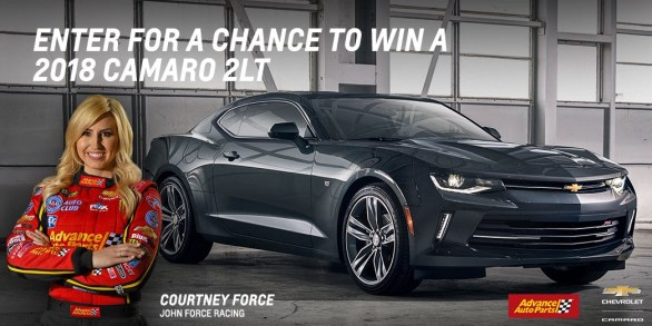 Win The 2018 Camaro Sweepstakes