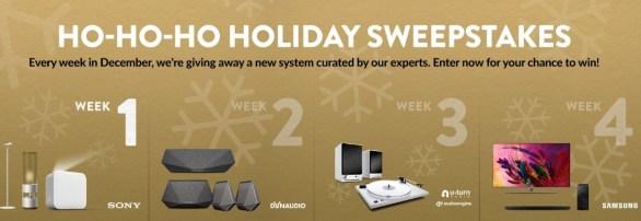 World Wide Stereo Ho-Ho-Ho Holiday Sweepstakes