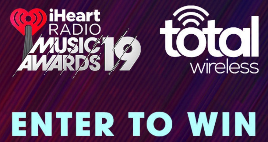 Total Wireless iHeartRadio Music Awards Sweepstakes - Win Trip