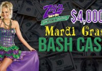 $4000 Mardi Gras Cash Bash Sweepstakes